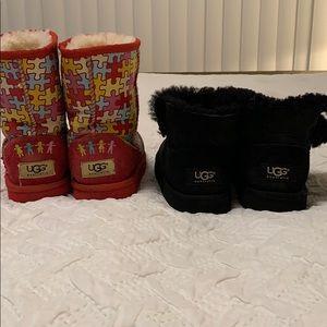 UGG bundle of two boots